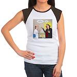 Vampire Eye Doctor Plo Junior's Cap Sleeve T-Shirt