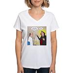 Vampire Eye Doctor Ploy Women's V-Neck T-Shirt