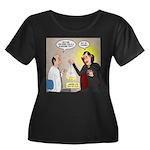 Vampire Women's Plus Size Scoop Neck Dark T-Shirt