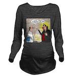 Vampire Eye Doctor P Long Sleeve Maternity T-Shirt