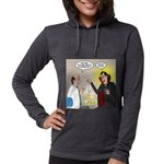 Vampire Eye Doctor Ploy Womens Hooded Shirt