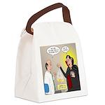 Vampire Eye Doctor Ploy Canvas Lunch Bag
