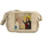 Vampire Eye Doctor Ploy Messenger Bag