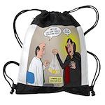 Vampire Eye Doctor Ploy Drawstring Bag