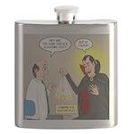 Vampire Eye Doctor Ploy Flask