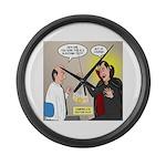 Vampire Eye Doctor Ploy Large Wall Clock