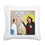 Vampire Eye Doctor Ploy Square Canvas Pillow