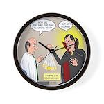 Vampire Eye Doctor Ploy Wall Clock