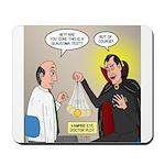 Vampire Eye Doctor Ploy Mousepad
