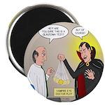 Vampire Eye Doctor Ploy Round Magnet