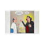Vampire Eye Doctor Plo Rectangle Magnet (100 pack)