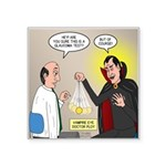 Vampire Eye Doctor Ploy Square Sticker 3