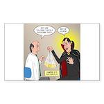 Vampire Eye Doctor Ploy Sticker (Rectangle 10 pk)