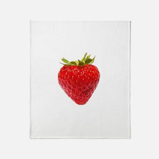 Cute Strawberry Throw Blanket