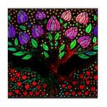 Libris Roots Tile Coaster