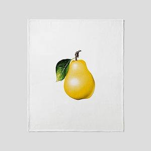 Pear Throw Blanket