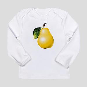 Pear Long Sleeve Infant T-Shirt
