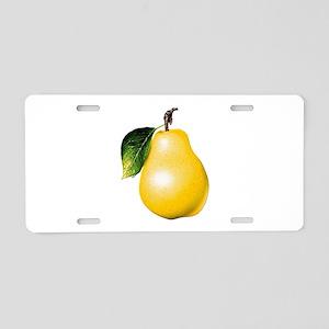 Pear Aluminum License Plate