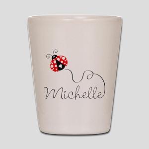 Ladybug Michelle Shot Glass