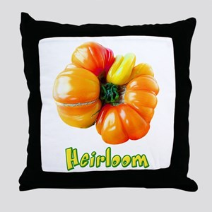 Heirloom Tomato Throw Pillow