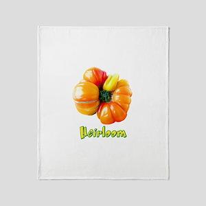 Heirloom Tomato Throw Blanket