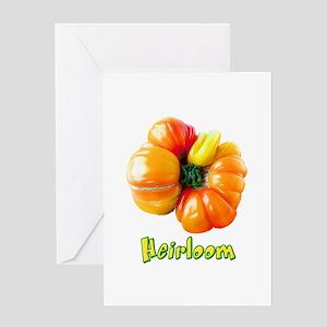 Heirloom Tomato Greeting Card
