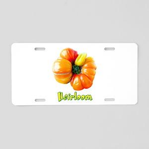 Heirloom Tomato Aluminum License Plate
