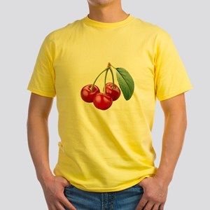 Cherries Cherry Yellow T-Shirt