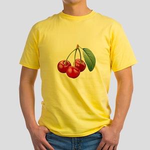Cherries Cherry Yellow T-Shirt