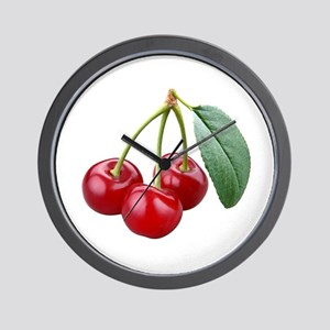 Cherries Cherry Wall Clock