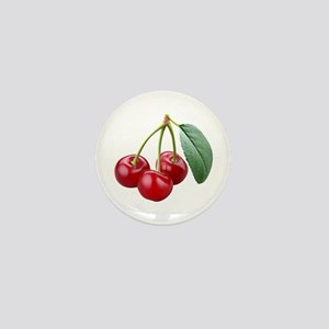 Cherries Cherry Mini Button