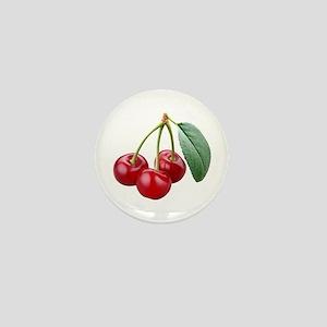 Cherries Cherry Mini Button