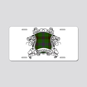 Davidson Tartan Shield Aluminum License Plate