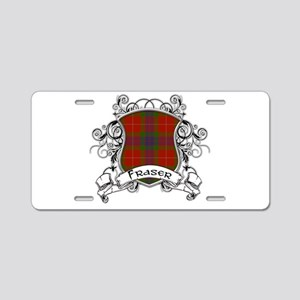 Fraser Tartan Shield Aluminum License Plate