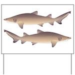 Sand Tiger Shark Yard Sign