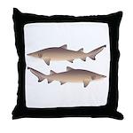 Sand Tiger Shark Throw Pillow