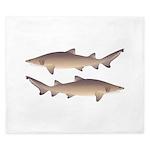 Sand Tiger Shark King Duvet