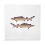Sand Tiger Shark Queen Duvet