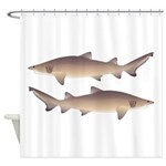 Sand Tiger Shark Shower Curtain