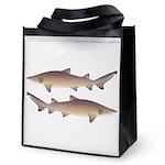 Sand Tiger Shark Reusable Grocery Tote Bag