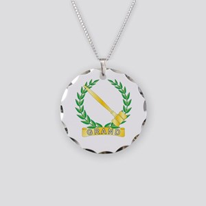 Grand Worthy Advisor Necklace Circle Charm