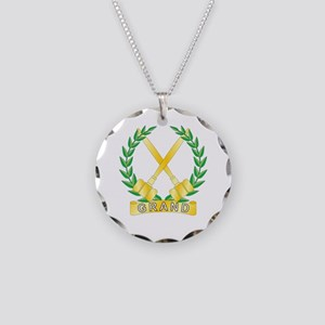Grand Worthy Associate Adviso Necklace Circle Char