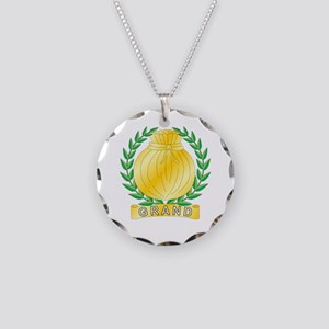 Grand Charity Necklace Circle Charm