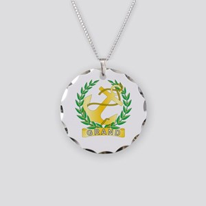 Grand Hope Necklace Circle Charm