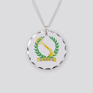 Grand Treasurer Necklace Circle Charm