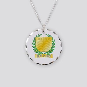 Grand Chaplain Necklace Circle Charm