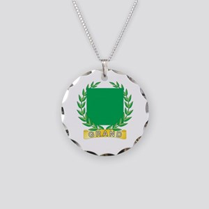 Grand Immortality Necklace Circle Charm