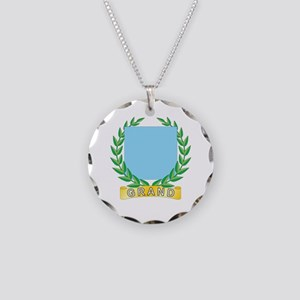 Grand Fidelity Necklace Circle Charm