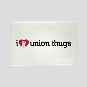 I Love Union Thugs Rectangle Magnet