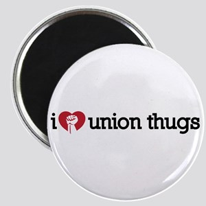 I Love Union Thugs Magnet
